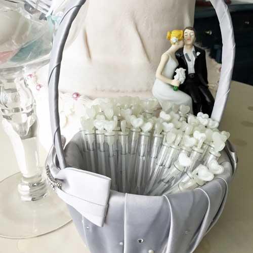 結婚式のバブルシャワー